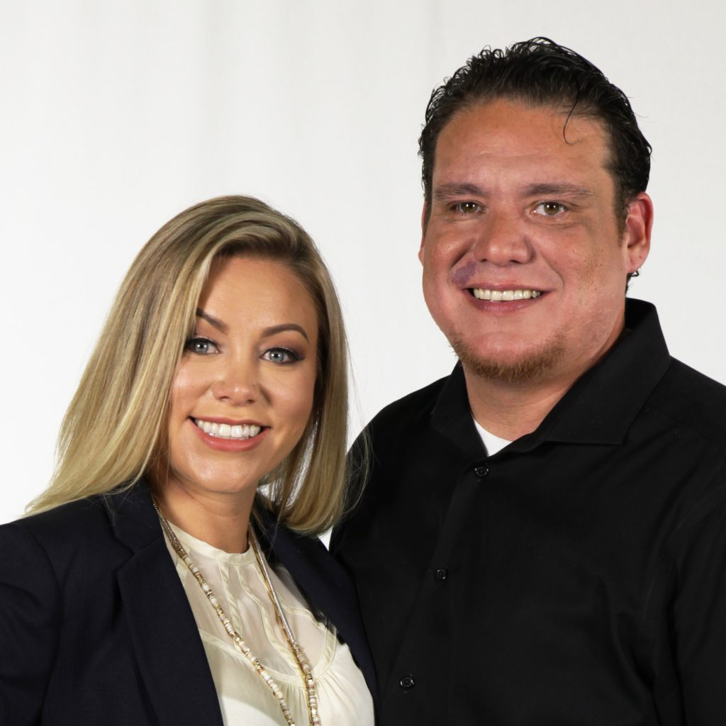 AC Ramos and Cecy with Prosperity Real Estate Group